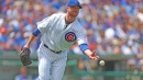 Cubs' Jon Lester is trying Michael Jordan-esque bounce throws to first base now