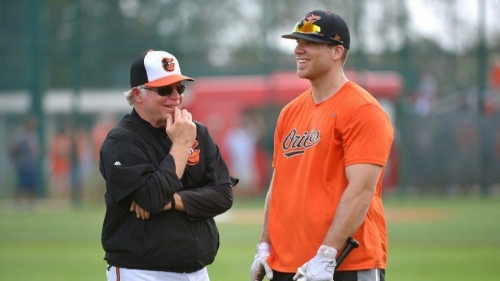 Orioles notes: Davis eager to get out of 'wounded wing protocol' as elbow injury progresses