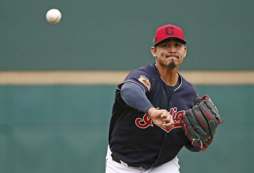 Carlos Carrasco takes the mound against Cincinnati: Cleveland Indians spring training lineup