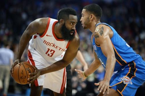 Rockets dump Thunder 122-112 for 16th straight win