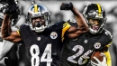 Steelers WR Antonio Brown restructures contract to help with Le'Veon Bell's franchise tag