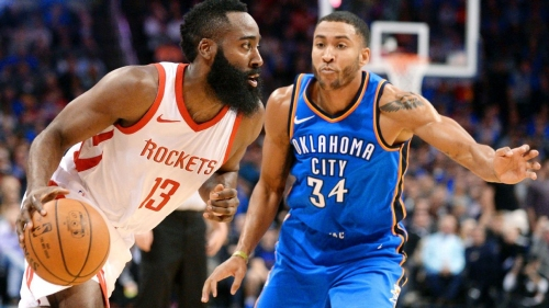 NBA -- James Harden, Chris Paul push Rockets to 16th straight win