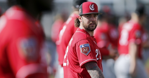 Spring Training: Finnegan throws well, Reds beat Indians 7-6