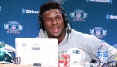 JuJu Smith-Schuster jokes that the Steelers are waiting to pay Le'Veon Bell after they sign LeBron James