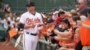 Orioles' Mark Trumbo could miss up to a week with quad injury