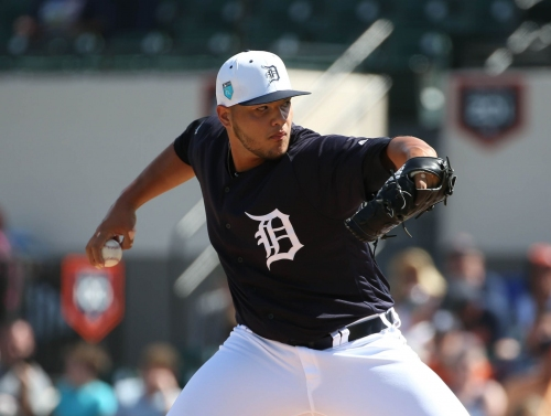 Detroit Tigers' Joe Jimenez continues impressive spring training
