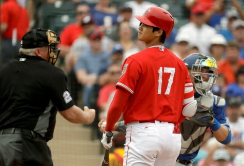 Rangers in line to face Ohtani the hitter on Sunday