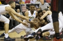 UNLV blows second-half lead, eliminated by UNR, 79-74