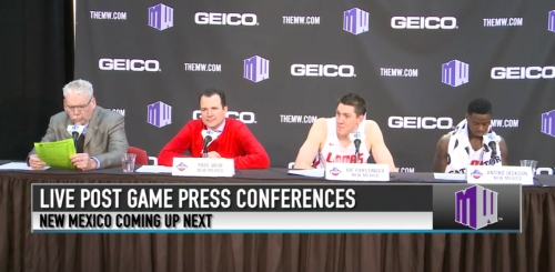 Lobos run past Wyoming for first MWC Tournament win in four years