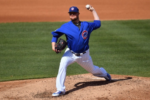 Cubs 6, Angels 1: Jon Lester's day