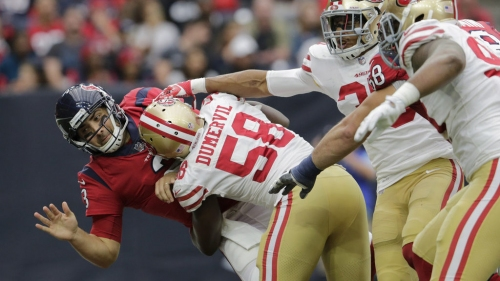 49ers don't pick up option for linebacker Elvis Dumervil