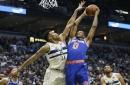 Giannis Antetokounmpo dominates again as Knicks fall to Bucks