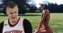 Eric Gordon making moves on Jen Selter? (Kristaps Porzingis' Instagram Bae)