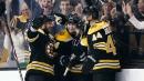 Gionta, Rick Nash help Bruins power past Blackhawks