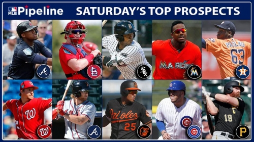 Braves' Ronald Acuna leads prospects Saturday