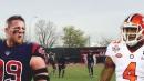 Video: Texans' J.J. Watt and Deshaun Watson show off workout reel