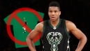 Giannis Antetokounmpo requested NBA stop selling shirt of him dunking on Tim Hardaway Jr.