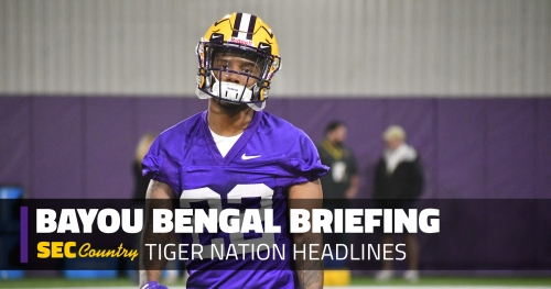 Maybe it's time to be just a little bit worried about LSU's cornerback situation