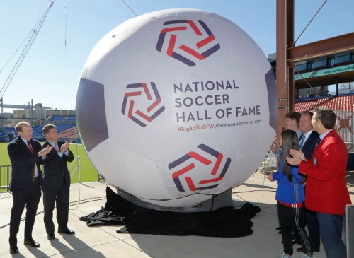 Ballot for Frisco's first National Soccer Hall of Fame induction is announced