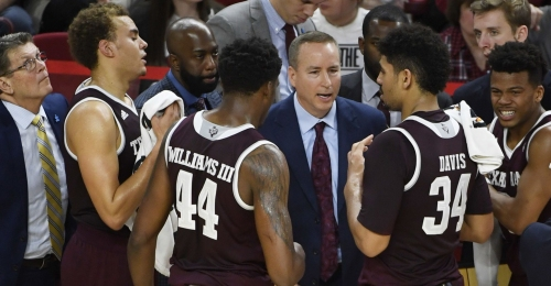 Texas A&M draws matchup with Providence in NCAA Tournament