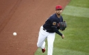 Carlos Carrasco dominant, Cleveland Indians defense flashy, but Milwaukee Brewers rally late to win, 5-4