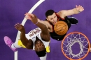 Jordan Clarkson and Larry Nance Jr. cheered in return to Staples Center to face Lakers