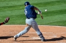 Grand slam by Ji-Man Choi keys Brewers to 7-6 win over Dodgers