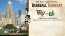 Baseball Gameday: Wake Forest vs. Charlotte