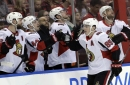 Duchene leads Senators to rare road win with two goals