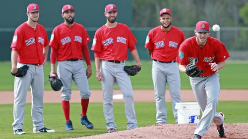 Silverman: Despite injuries, not much worry around Red Sox rotation