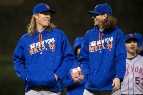 Noah Syndergaard will be the Mets' Opening Day starter, Jacob deGrom to pitch second game