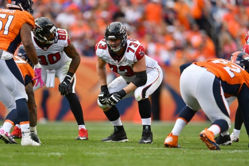 Per PFF: The Falcons had the second-best offensive line last season