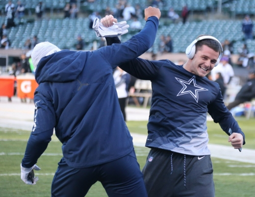 Dallas Cowboys WR Ryan Switzer got married! Check out some wedding pictures here.