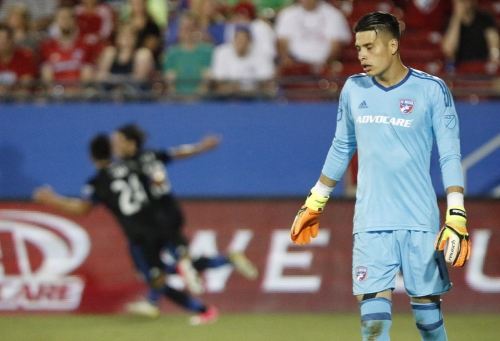 FC Dallas goalkeeper Jesse Gonzalez doubtful for Sunday as he works back from knee injury