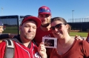 Bryce Harper helped deliver baby news to a couple...