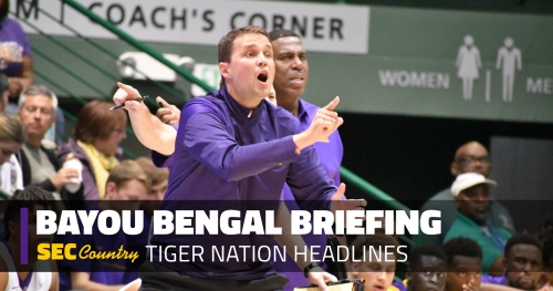 Don't underplay this: Being in NIT is massive for LSU basketball