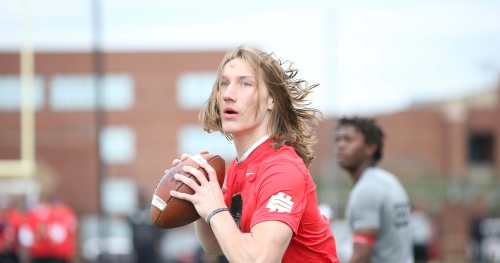 Clemson co-OC Jeff Scott compares Trevor Lawrence to 2.5-year-old