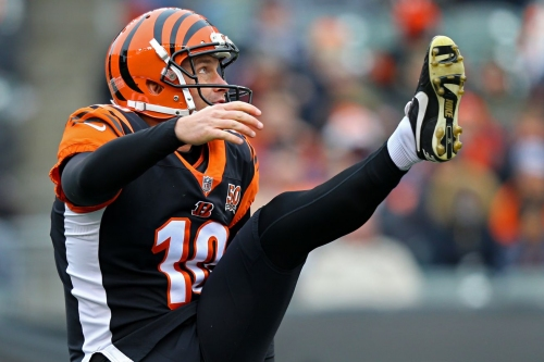 Bears talking to Bengals free agent punter Kevin Huber, per report