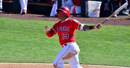 Angels players out of Options