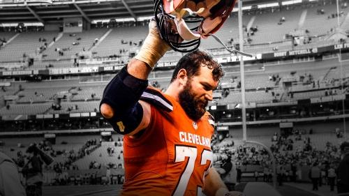Cleveland Browns tackle Joe Thomas announces NFL retirement