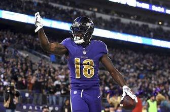 Ravens release WR Jeremy Maclin, free up $5 million in cap space