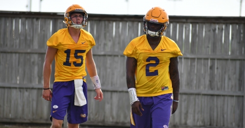 Finding right LSU quarterback will require some patience