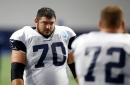 How far apart are contract negotiations between the Cowboys and OL Zack Martin?