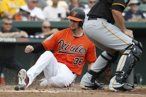 Orioles' Joseph goes from being punchline to No. 1 catcher