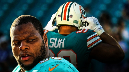 Report: The Miami Dolphins officially release Ndamukong Suh