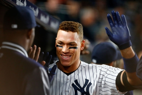 Aaron Judge pitches Manny Machado on joining the Yankees