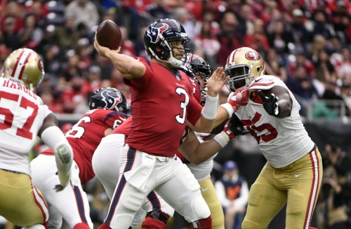 Saints to sign former Texans quarterback Tom Savage