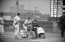 Would the Yankees relievers ride in a retro bullpen cart? At least D-Rob is a ''yes''