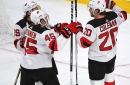 Devils Erupt, Defeat Golden Knights 8-3