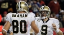 Saints QB Drew Brees reacts to Jimmy Graham going to Packers